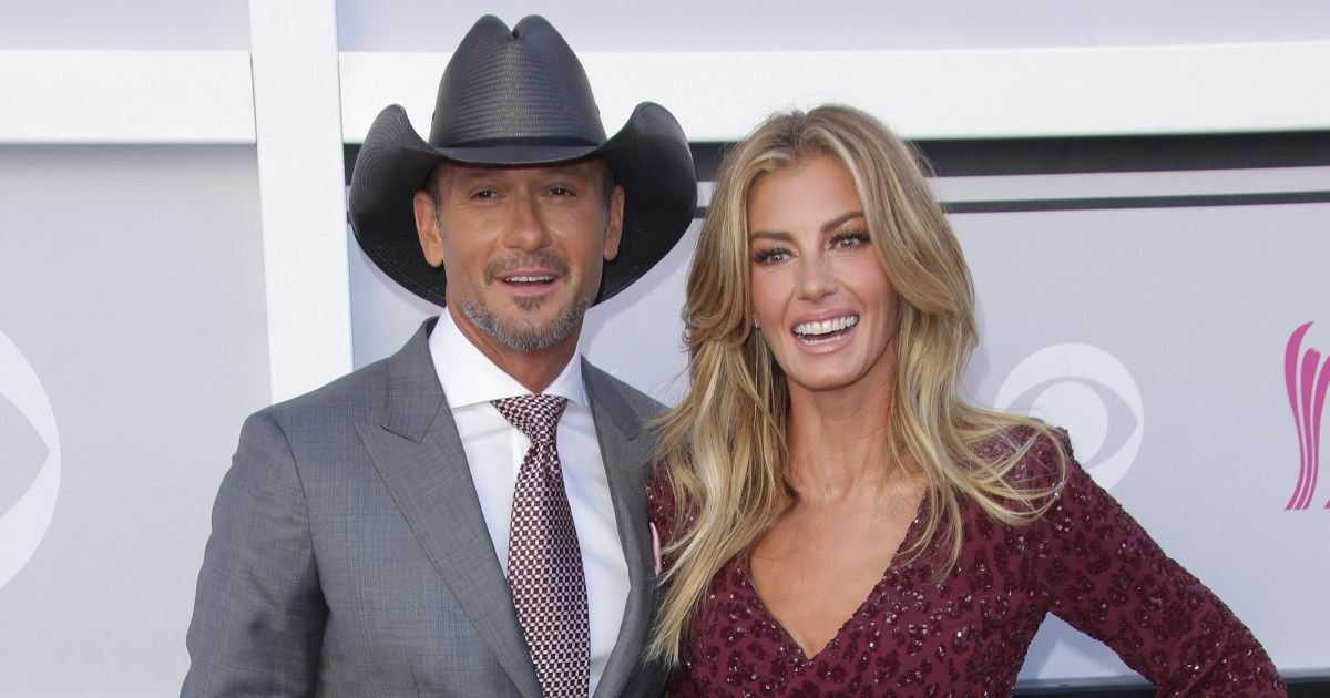 Tim McGraw and Faith Hill Celebrate 23 Years of Marriage