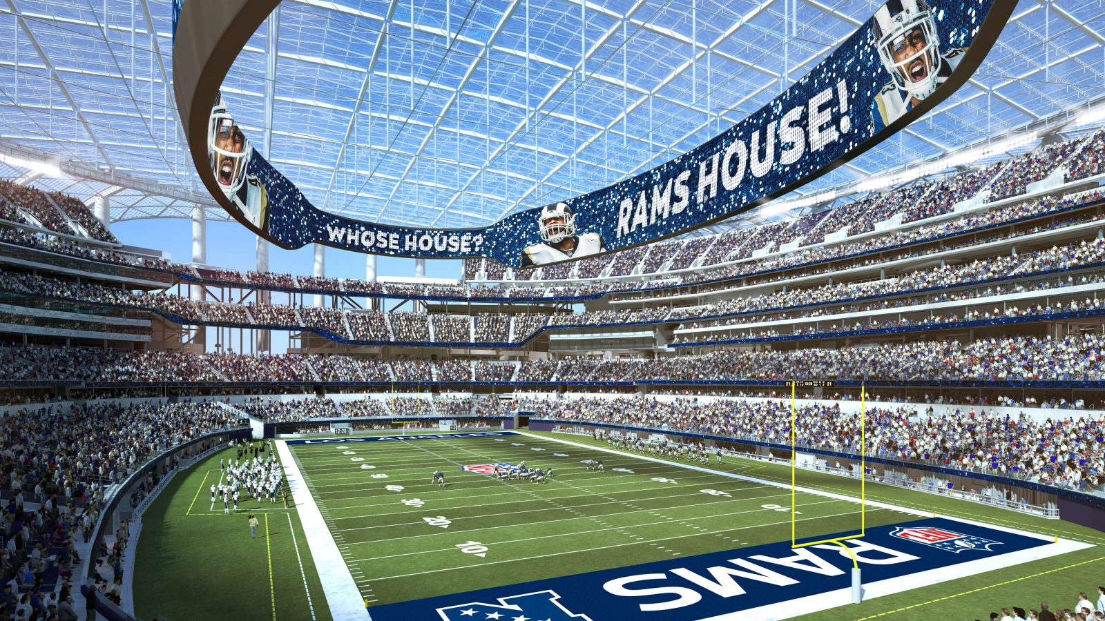 How the new SoFi stadium in LA embodies the future of live sports and entertainment