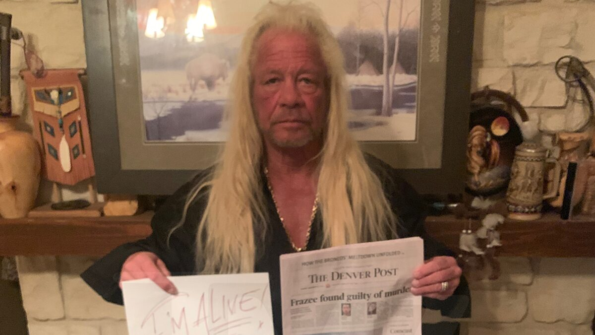Dog the Bounty Hunter Fights Off Death Hoax Stories, Says He's Alive