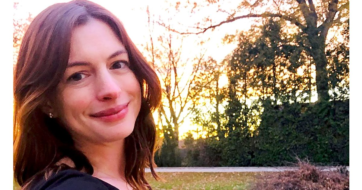 Anne Hathaway Celebrates Her Birthday With a Glowing Baby Bump Pic