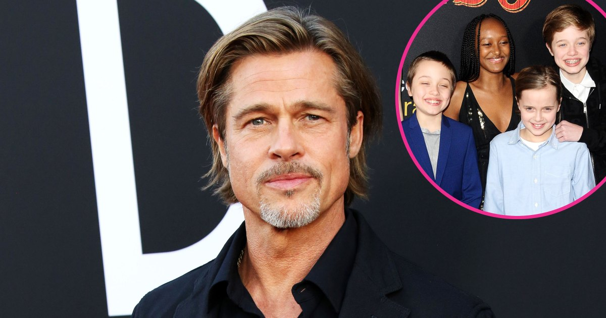 Brad Pitt Often Isn't Able to See His Kids on Holidays
