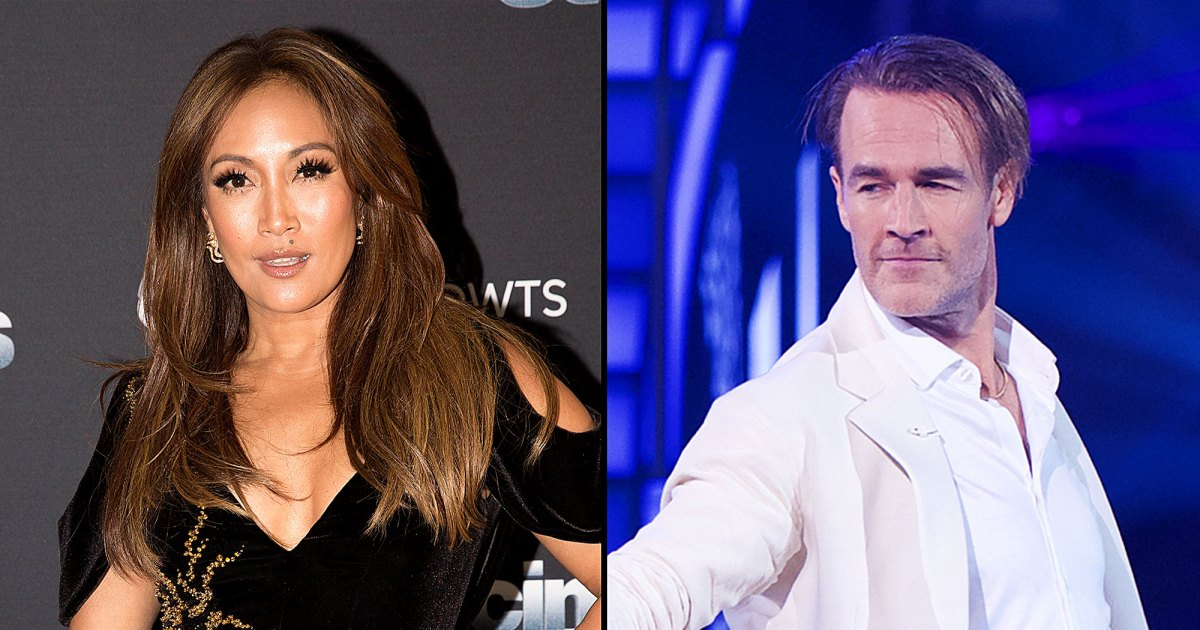 Carrie Ann Inaba 'Vomited' After James Van Der Beek Was Cut on 'DWTS'