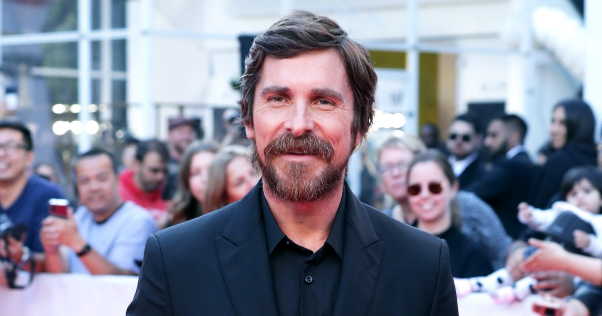 Christian Bale Is 'Done' With Dramatic Movie Weight Loss