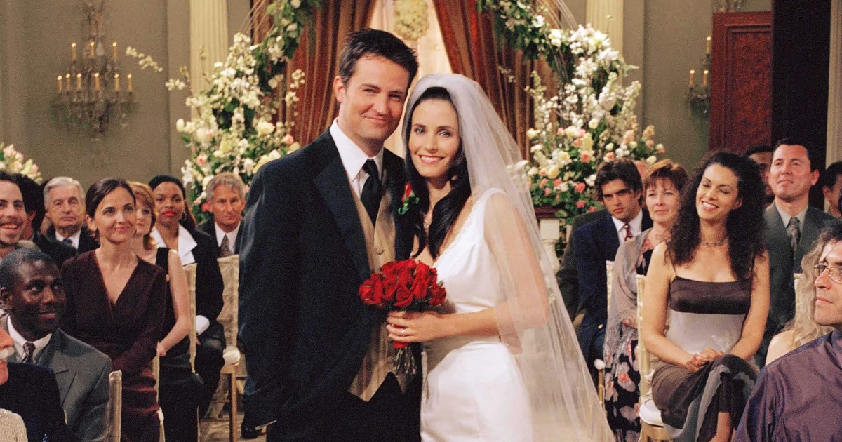 Courteney Cox and Matthew Perry Bring Monica and Chandler Back Together
