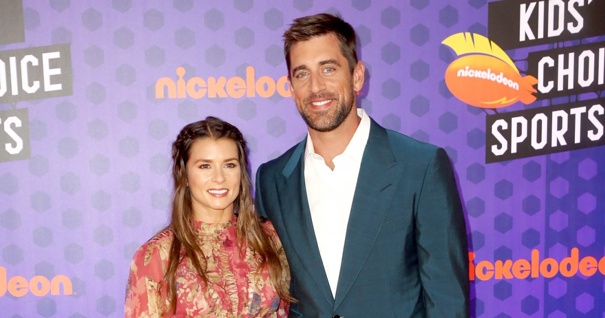 Danica Patrick Jokes That Aaron Rodgers Will Propose to Her 'Tomorrow'