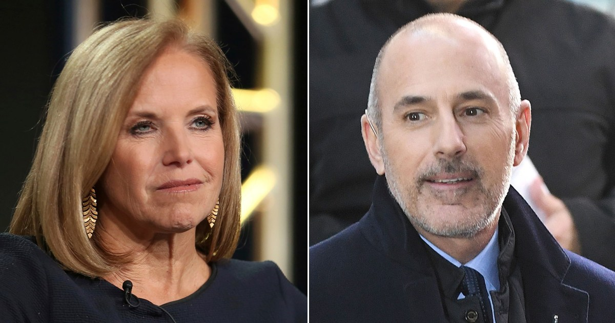 Katie Couric on Matt Lauer: He 'Turned Out to Be 2 Very Different People'