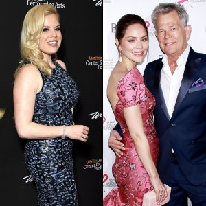 Smash Megan Hilty Katharine McPhee Is So So Happy With David Foster