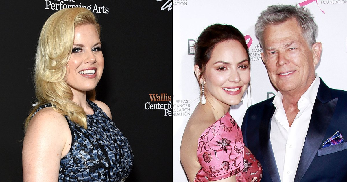 Smash's Megan Hilty: Katharine McPhee Is 'So, So Happy' With David Foster