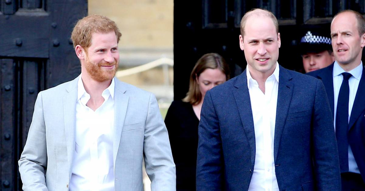 Prince William and Prince Harry Have Always Been 'Very Competitive'
