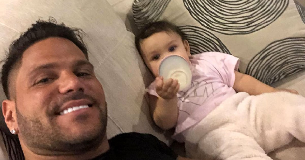 Ronnie Ortiz-Magro Appears to Reference Protective Order in Pic With Daughter