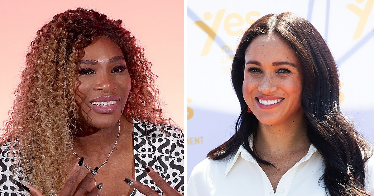 Serena Williams: Duchess Meghan Is 'Always There' When I Call Her Crying