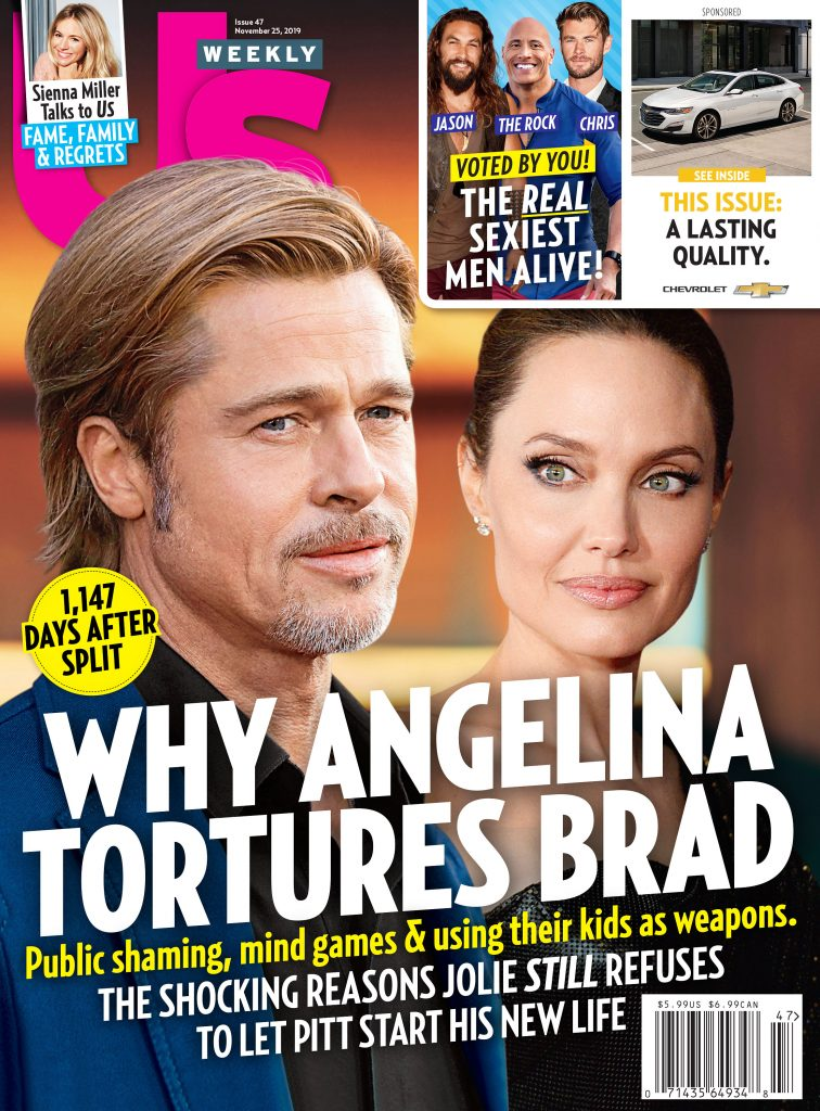 Us Weekly Cover Issue 4719 Angelina Jolie and Brad Pitt