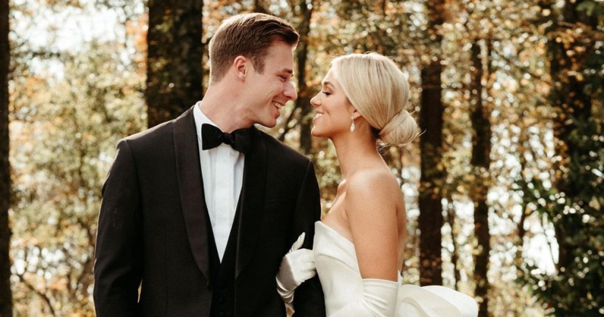 Sadie Robertson and Husband Christian Huff Share First Wedding Photos