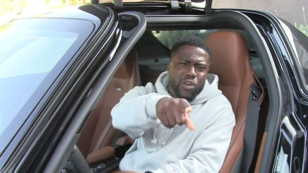 Kevin Hart Scoffs at Questions, Wants Paps to Focus on Living Life