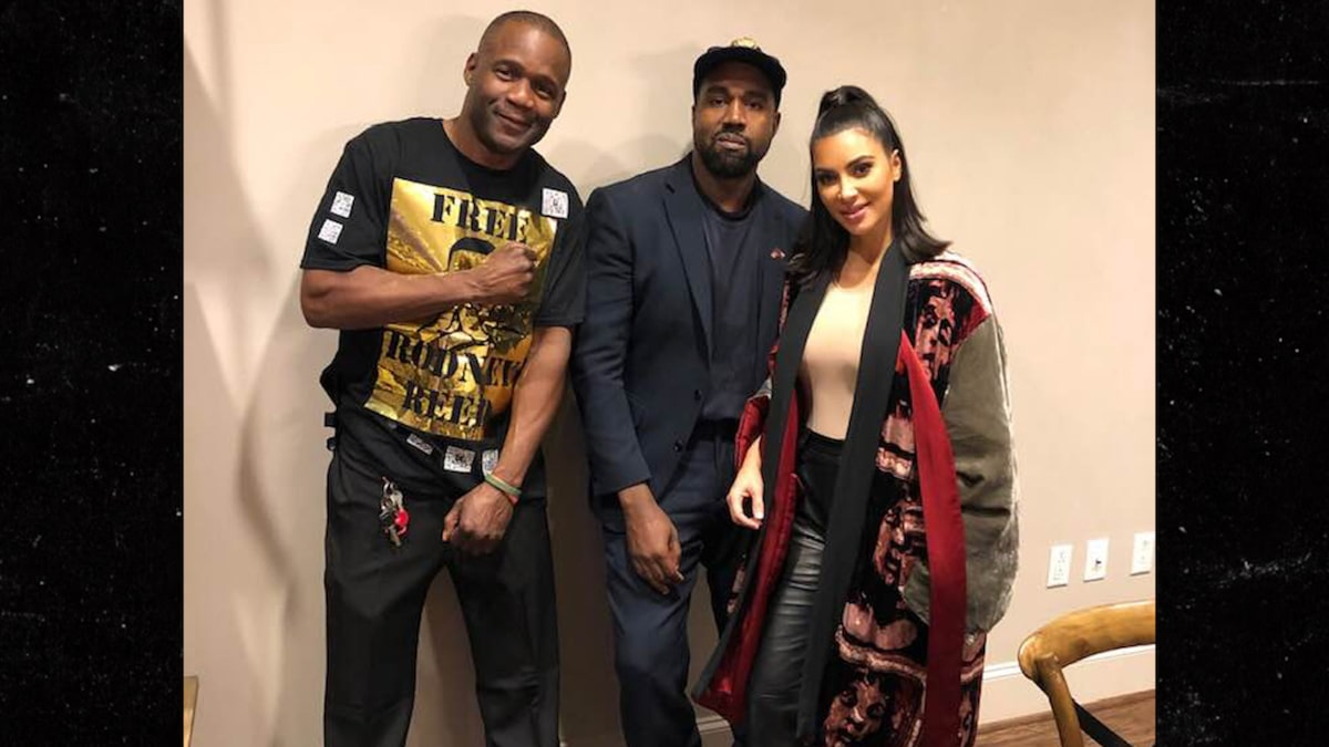 Kim K, Kanye & Joel Osteen Met Rodney Reed's Bro After Execution Stay