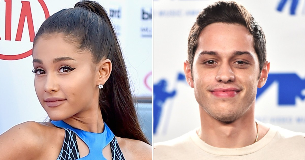 Ariana Grande and Pete Davidson: The Way They Were