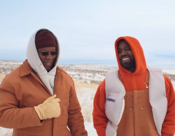 """Kanye West Bonds With His Dad in """"Follow God"""" Music Video"""