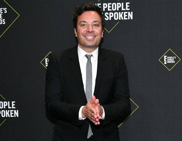 Watch Jimmy Fallon Give Giuliana Rancic an Impromptu Dance Lesson on the 2019 People's Choice Awards Red Carpet