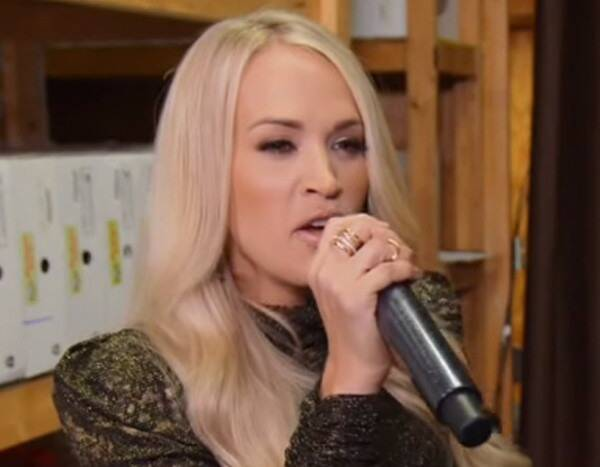 Watch Carrie Underwood Hilariously Prank--And Serenade--Nashville Shoppers
