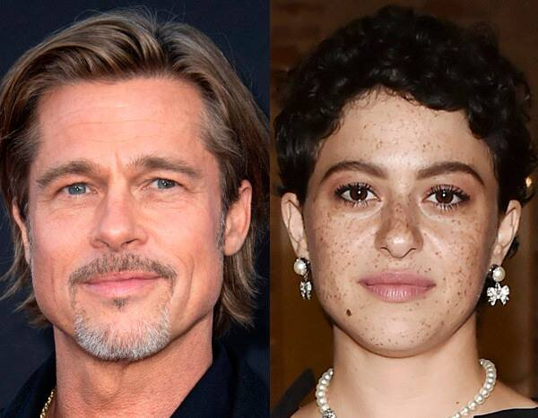 Here's What's Really Going on Between Brad Pitt and Alia Shawkat
