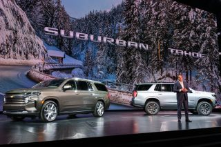 GM hopes to boost No. 1 lead in full-size SUV sales with redesigned Chevy Tahoe, Silverado