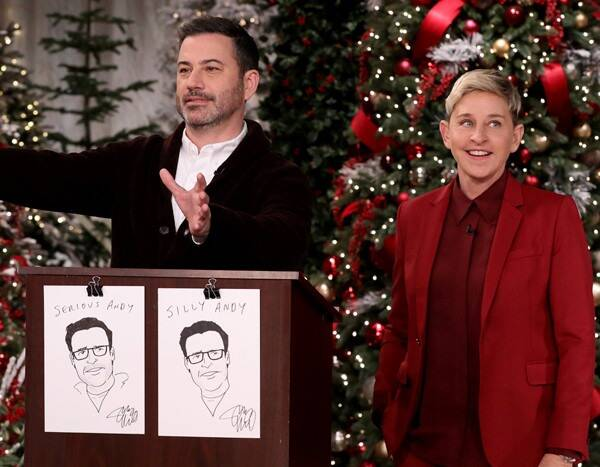 Jimmy Kimmel's Color Coded, 13 Page Gift Guide Is An Organizer's Dream Come True