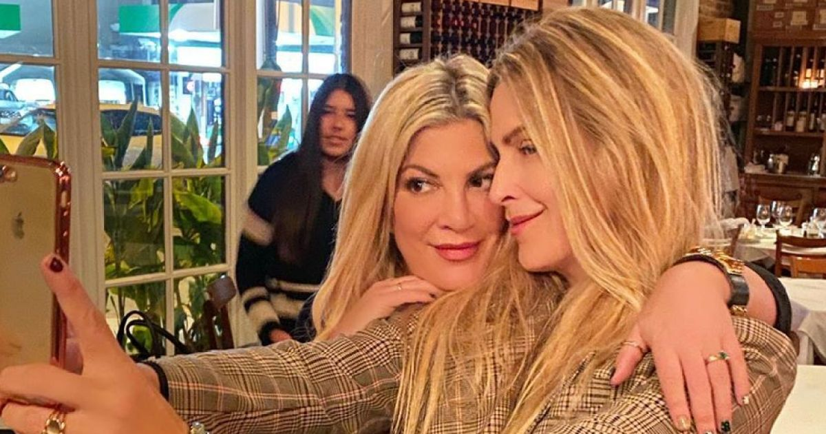 New Tradition! Tori Spelling Celebrates Holidays With Dean's Ex-Wife