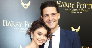 Sarah Hyland and Wells Adams Celebrate First Christmas as Engaged Couple