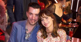Jonathan Scott Joins Zooey Deschanel on Stage at She & Him Show
