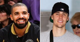 Drake Feels Left Out After Justin Bieber Hangs With Canadian Hockey Legends