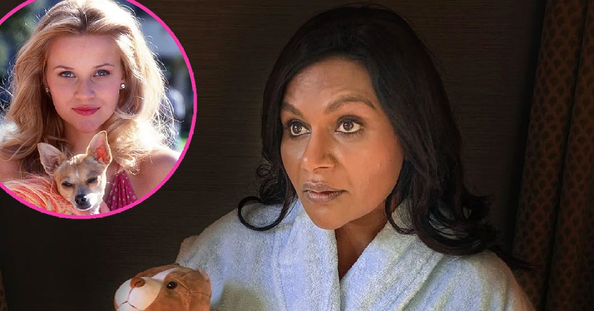 Mindy Kaling Channels Reese Witherspoon in 'Legally Blonde'