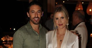 Claire Holt, Dwyane Wade, More Attend Wayne and Cynthia Boich's Art Basel Party