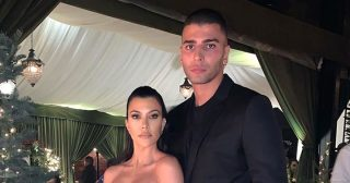 Kourtney Kardashian Posts Pic With Younes Bendjima at Her Christmas Party