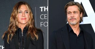 Friendly Exes! Jennifer Aniston and Brad Pitt's Connection is 'Flirtatious' at Times