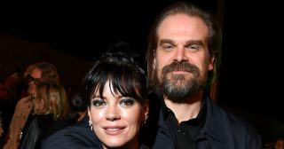 Lily Allen and David Harbour Spark Engagement Rumors With Ring