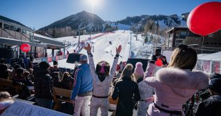 This Annual Ski Event Let's You Party With the Pros — for a Good Cause