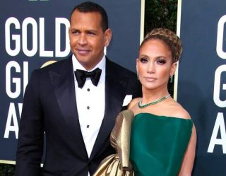 Jennifer Lopez's 2020 Golden Globes After Party Dress Is the Real Show Stopper