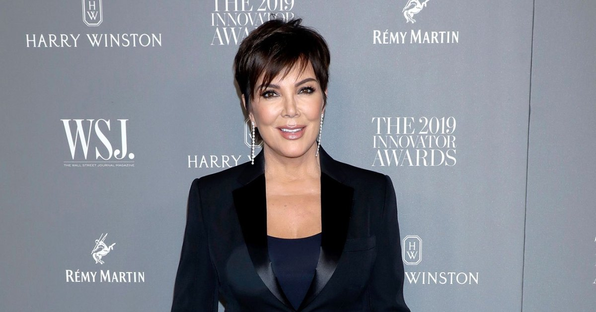 Kris Jenner Relaxed With a Massager Gifted by Kourtney Kardashian