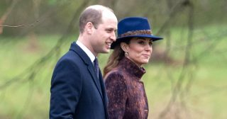 Prince William, Duchess Kate Attend Sunday Service in Sandringham: Pics