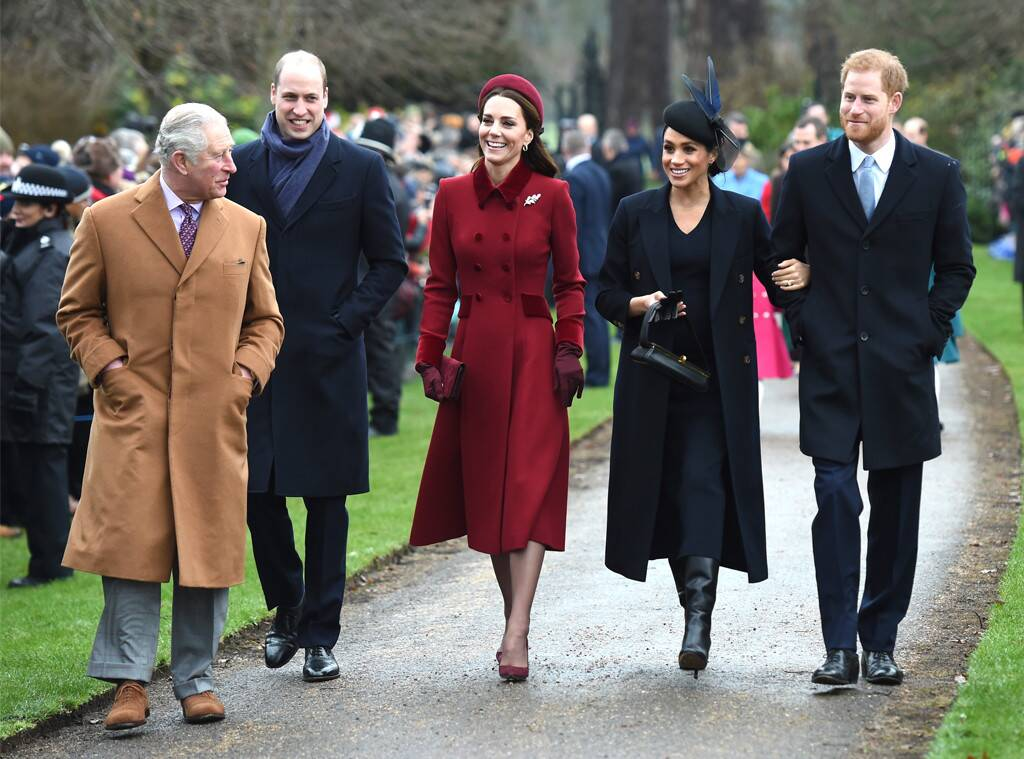 Prince Charles, Prince William, Meghan Markle, Kate Middleton, Prince Harry, Royals, Christmas