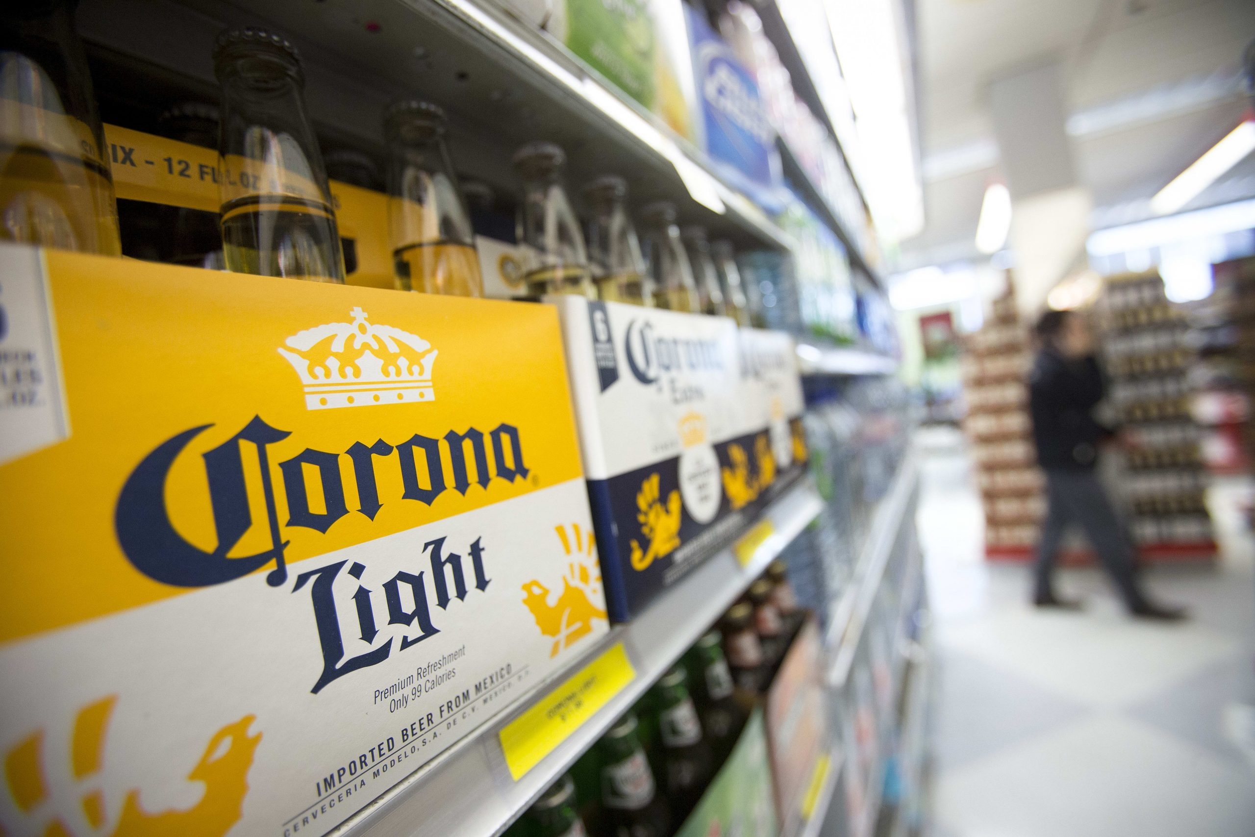 Corona seltzer will launch in spring 2020 with a $40 million push from Constellation Brands