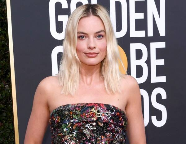 Margot Robbie and Husband Tom Ackerly Make Rare Appearance Together at the Golden Globes