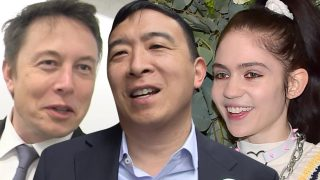 Andrew Yang Congratulates Elon Musk and Grimes on 'Pregnancy'
