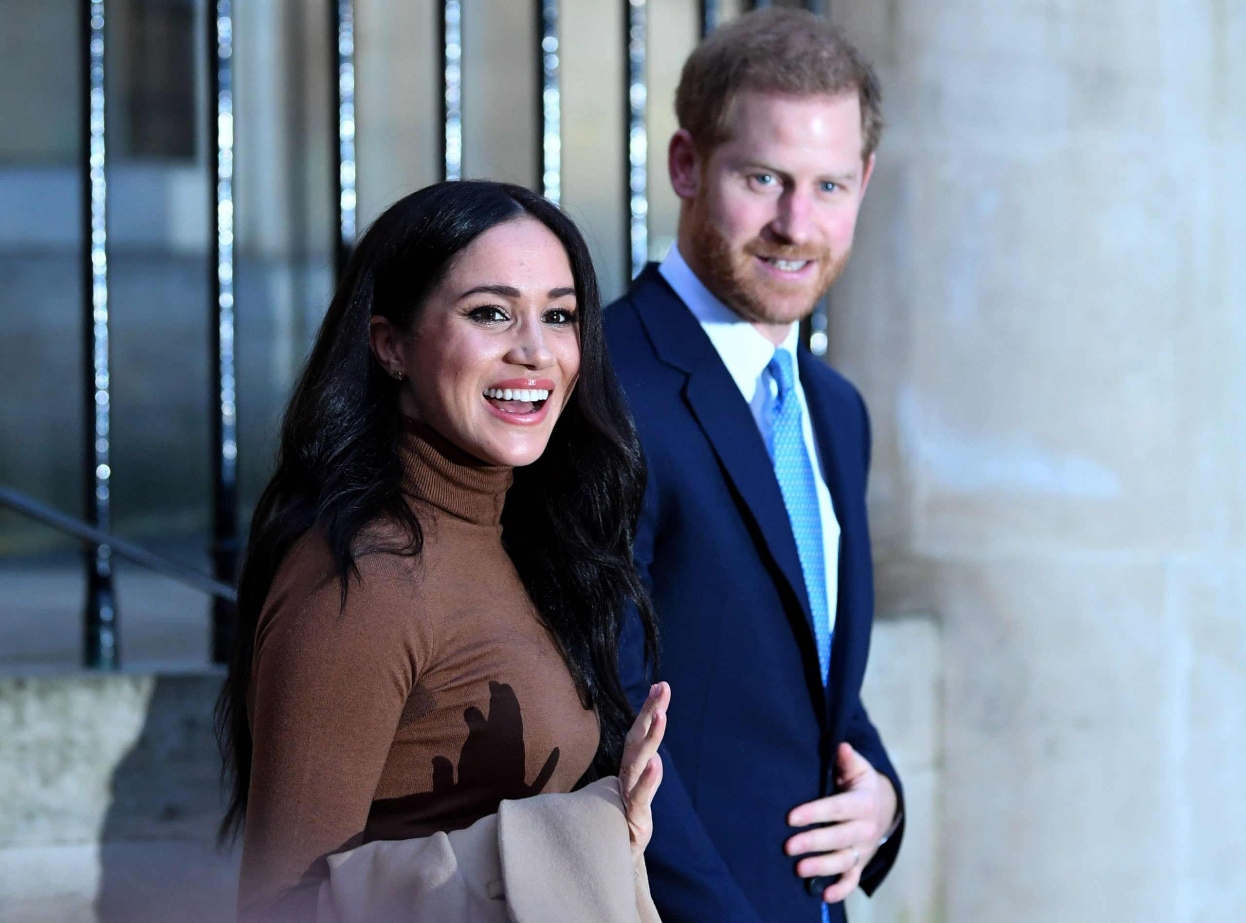 Prince Harry and Meghan Markle say they are taking a step back as 'senior' members of the royal family