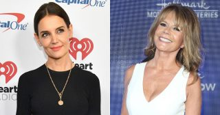 Dawson's Creek's Katie Holmes, Mary-Margaret Humes Have Girls' Night Out