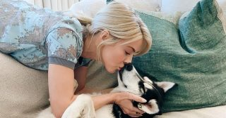 How Julianne Hough and More Stars Are Bonding With Pets During Quarantine