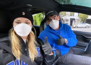 Sophie Turner And Joe Jonas Wear Face Masks As The Pregnant Beauty Stays Safe During Coronavirus Pandemic