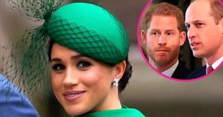 Meghan Markle Believes Harry and William 'Will Patch Things Up'