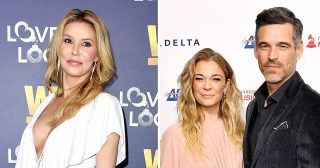 Brandi Glanville Reignites Feud With Ex Eddie Cibrian and LeAnn Rimes