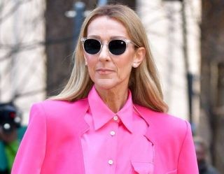 Céline Dion Breaks the Fashion Rules as She Fabulously Wears a Skirt With Pants